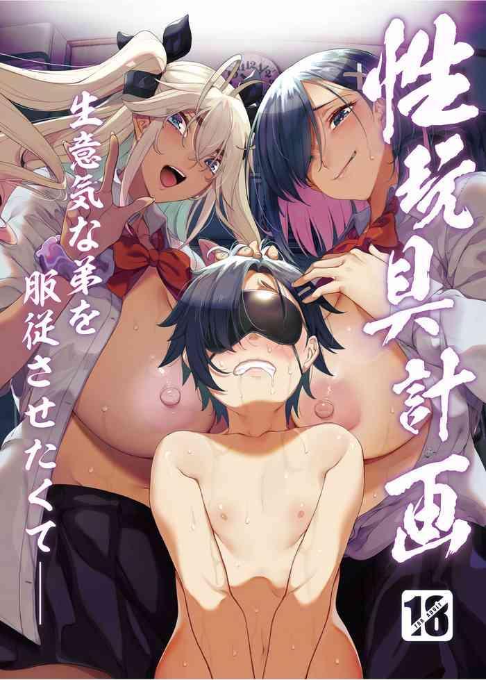 seigangu keikaku namaiki na otouto o fukujuu sasetakute i want to make my cheeky younger brother submit to me using sex toys cover