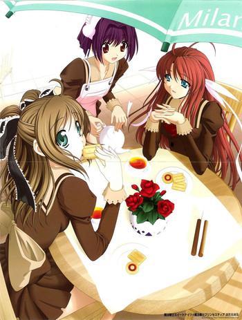 mahou senshi sweet knight mahou senshi princess tear cover