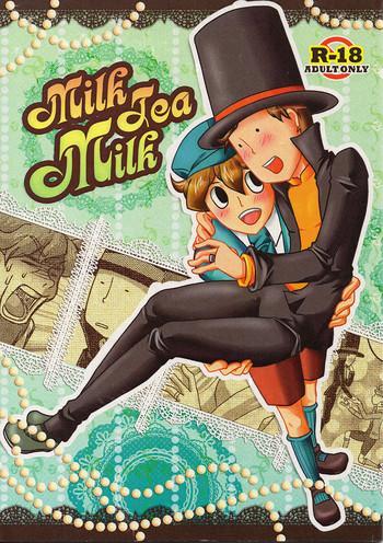 milk tea milk cover